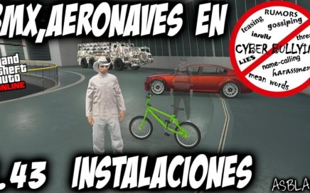 TRUCO GUARDAR BMX, AERONAVES o VEHICULOS ESPECIALES en INSTALACIONES - GTA 5 - (PS4 - XBOX One)
