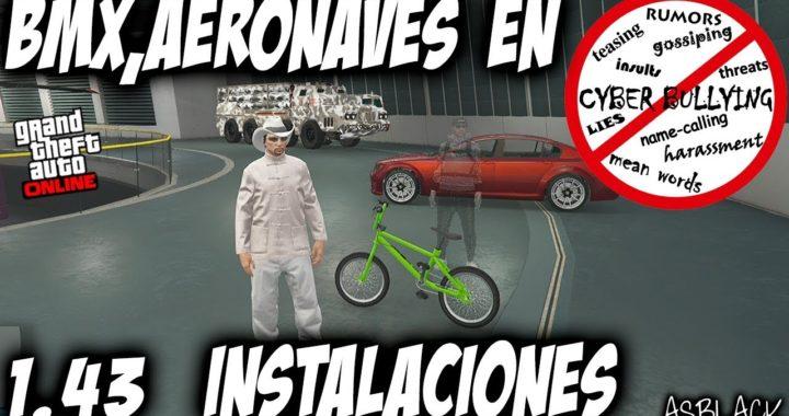 TRUCO GUARDAR BMX, AERONAVES o VEHICULOS ESPECIALES en INSTALACIONES - GTA 5 - (PS4 - XBOX One)