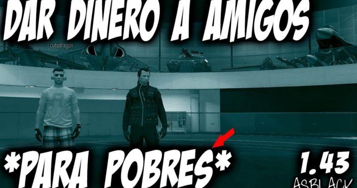 *TRUCO PARA POBRES* - DAR DINERO A TUS AMIGOS - GTA 5 - SIN INSTALACIONES - NI BUNKER - (PS4 - XB1)