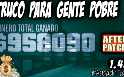 "TRUCO POBRES - DAR DINERO AMIGOS (casi 1.000.000$) - GTA 5 - AFTER PATCH - ""EXCLUSIVO"" - (PS4 - XB1)"