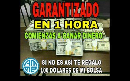 VIDEO DEMUESTRA COMO PUEDES GANAR $250 USD UNA Y OTRA VEZ UTILIZANDO UN SENCILLO SISTEMA 2018 HD