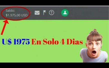 VIDEO DEMUESTRA COMO PUEDES GANAR $250 USD UNA Y OTRA VEZ UTILIZANDO UN SENCILLO SISTEMA