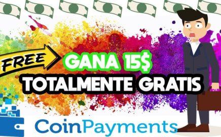 15$ TOTALMENTE GRATIS SOLO POR REGISTRO   2.5$ POR REFERIDO!!