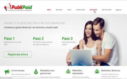 Ganar Dinero Sin Invertir Nada PAgina 100% Seguro 2018 pagos a Paypal