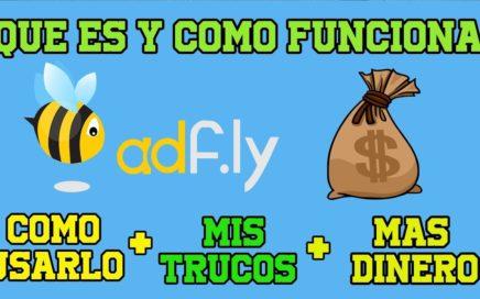 Adfly Como Funciona, Como Usarlo y Cuanto Paga/ Gana dinero en internet.