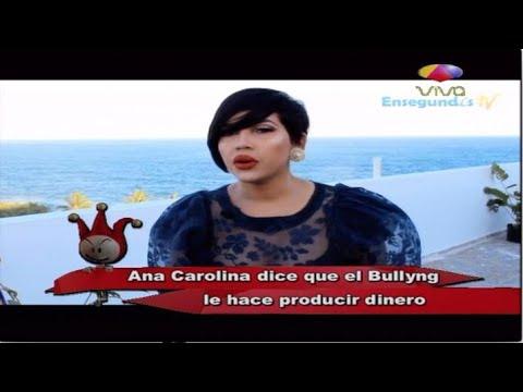 Ana Carolina Dice Que El Bullyng Que Recibe Le Hace Ganar Dinero - Los Dueños Del Circo