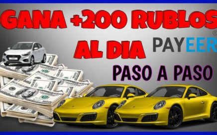 APRENDE A GANAR más de 200 RUBLOS por DÍA + pruebas de PAGO | MAYVIL
