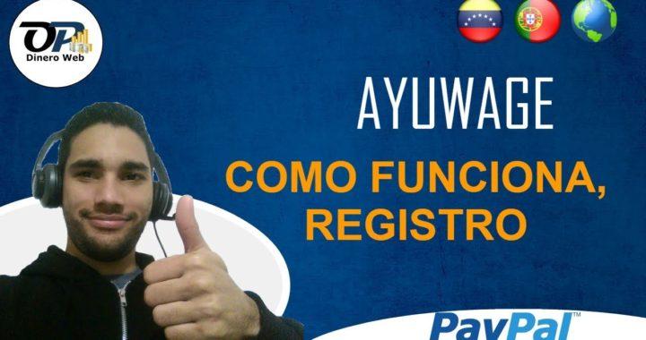 AYUWAGE, COMO FUNCIONA, REGISTRO