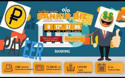 Bankir Nueva Pagina Para Ganar rublos 2018 [ Dinero Online ]