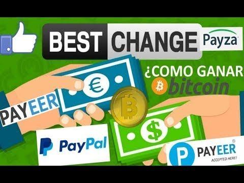 !!!BESTSCHANGE INTERCAMBIADOR DE MONEDAS QUE REGALA $0.50 POR REFERIDO A PAYPAL 100% REAL 2018!!!