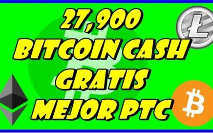 BITVERTS | 29,700 BITCOIN CASH GRATIS !! MEJOR PTC PARA GANAR CRIPTOMONEDAS GRATIS