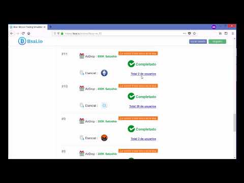 bsai - Gana dinero con airdrops de bitcoin y aprendiendo hacer tradding sin invertir dinero