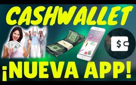 CashWallet| Gana $5 Dolares Diarios Por Paypal con Esta Nueva y Mejor App desde tu Android| Amadroid