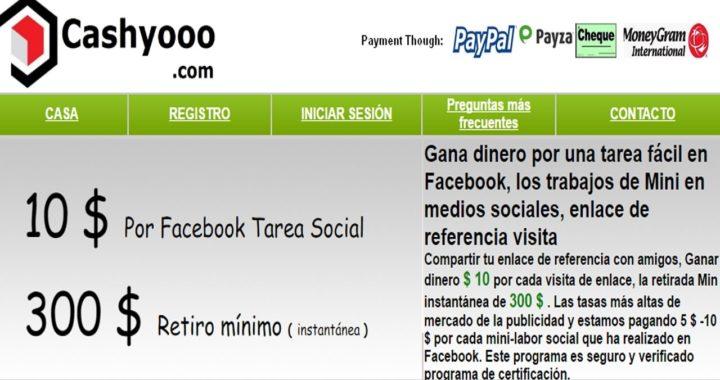 Cashyooo gana dinero fácil y rápido l PAGANDO!