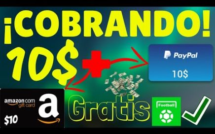 Cobrando 10$ por PayPal y 10$ en Amazon con All football (Nueva Actualización)