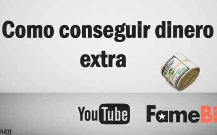 Como conseguir dinero extra en YouTube