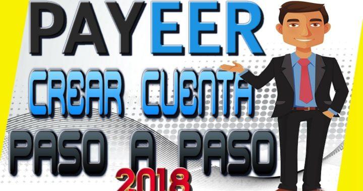 Como Crear Tu Cuenta En Payeer Paso a Paso 2018 Gratis Rápido y Fácil [ Tengo Dinero ]