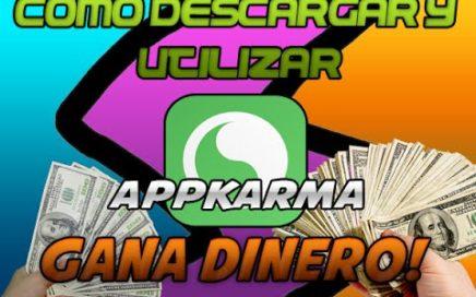 Como Descargar Y Utilizar AppKarma !