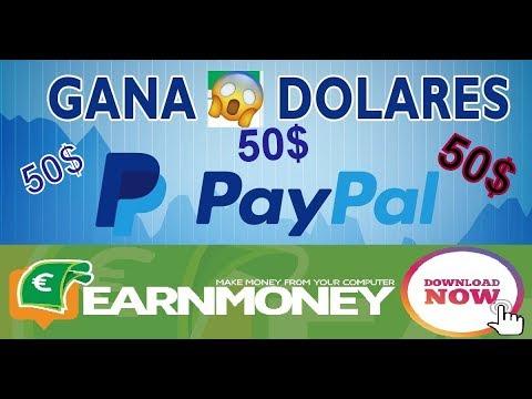 Como ganar 50$ para paypal - GANA DINERO POR INTERNET