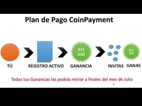 Como ganar $50 USD diarios con CoinPayments - Sin inversiòn