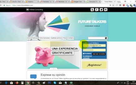 Cómo Ganar Dinero a Paypal con Encuestas Online   Nuevo Pago de Future Talkers   Gokustian