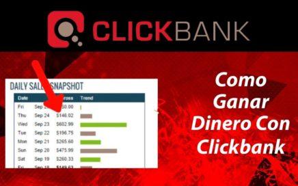 Como Ganar Dinero Con Clickbank  2018 | Como Promocionar Productos de Afiliados