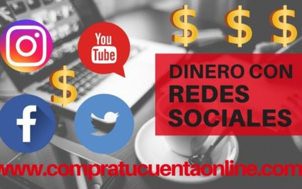 Como ganar dinero con instagram/facebook/twitter/youtube 2018