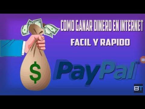 COMO GANAR DINERO EN INTERNET PARA PAYPAL 2018 | 20 USD A LA SEMANA