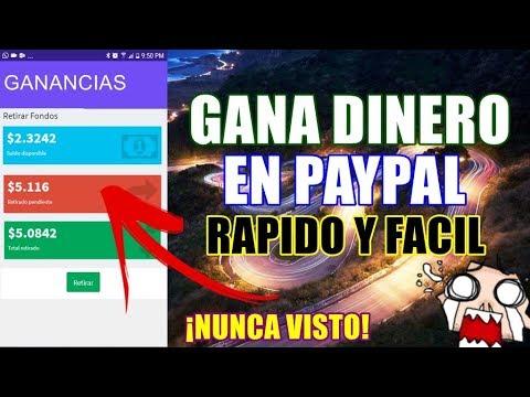 COMO GANAR DINERO EN PAYPAL RÁPIDO Y FÁCIL | Gana En PayPal 2018