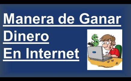 Como Ganar Dinero Facil Por Internet - Gana Dinero En Internet facil y rapido