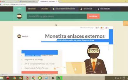 Como ganar dinero facil y rapido En Internet con shorte 2014 (BOT)
