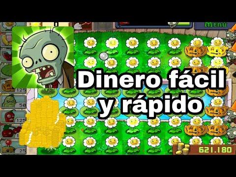 Como ganar dinero fácil y rápido en Plantas Contra Zombies | 100% Real