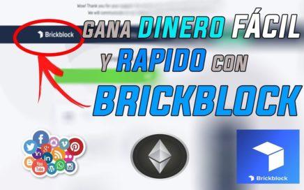 Como Ganar Dinero Fácil Y Rápido Por Internet 2018 Gracias a BrickBlocks | SOLO POR POCO TIEMPO