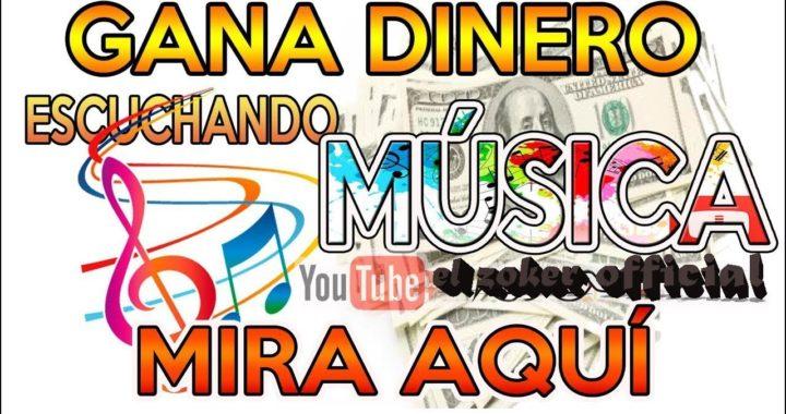 Como Ganar Dinero Para PAYPAL 2018 Escuchando Música!! PAGO INSTANTANEO!!