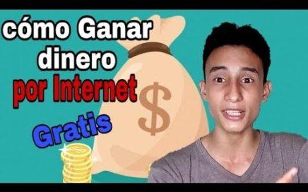 COMO GANAR DINERO POR INTERNET 100% GRATIS | PAYPAL