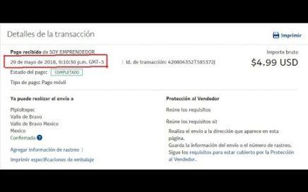 COMO GANAR DINERO POR INTERNET $4.99 USD Ilimitadamente PAYPAL SIN FRONTERA DIGITAL  2018