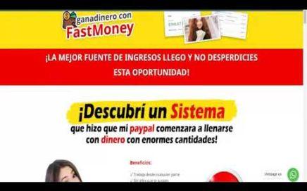 cómo ganar dinero por internet - como ganar dinero desde casa con fastmoney