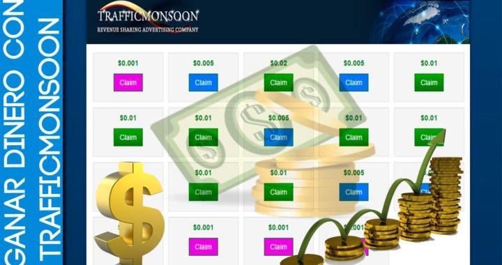 Como Ganar Dinero por Internet Gratis  Trafficmonsoon 1   2015  