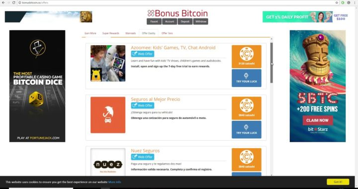 Como ganar dinero rápido haciendo encuestas (en bitcoins)