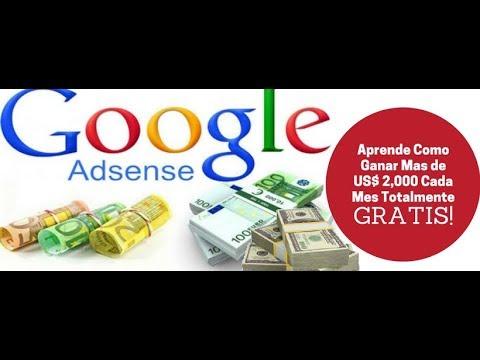 Como Ganar Mas de US$2,000 Cada Mes Gratis! con Google Adsense 2018