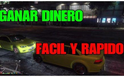 COMO GANAR MUCHO DINERO FACIL Y RAPIDO - GTA 5 ONLINE