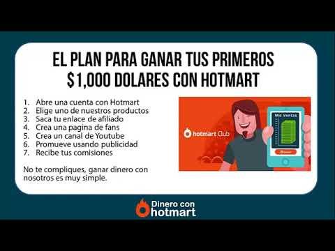 COMO GANAR TUS PRIMEROS $1000 DOLARES CON HOTMART   Programa Dinero con Hotmart