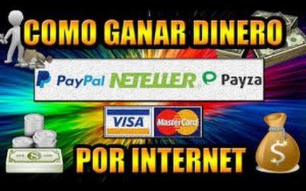 COMO GANO DINERO ONLINE ganar dinero sin invertir para paypal gratis trabajo desde casa 2018