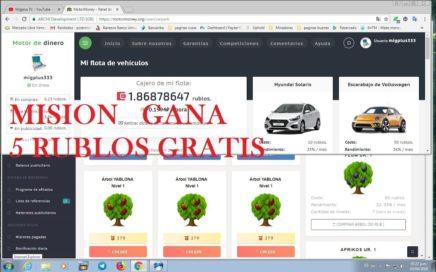 como hacer mision captura de pantalla gana 5 rublos Scam motormoney fruitmoney 2018