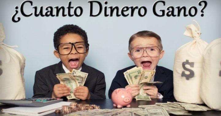 ¿Cuanto Dinero Gano? | Las Mejores Páginas para Ganar Dinero por Internet en 2018 y 2019