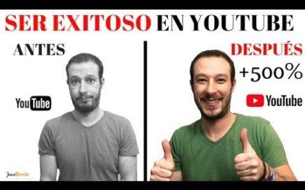 Curso Online SER EXITOSO en YOUTUBE y GANAR DINERO