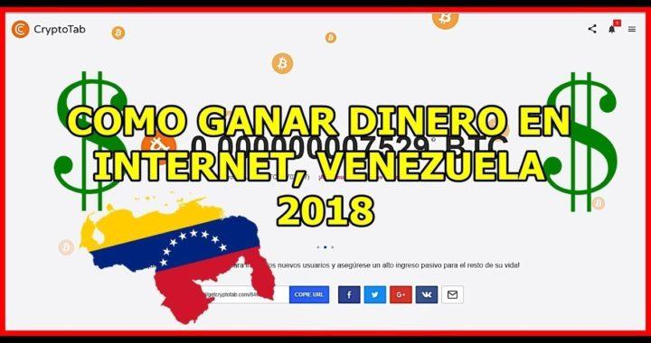 Derrota La Crisis venezuela 2, Gana dinero con (CryptoTab)( 2018)