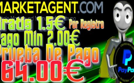 Dinero Con Encuestas, MarketAgent Prueba De Pago 64.00€ PayPal || Tengo Dinero