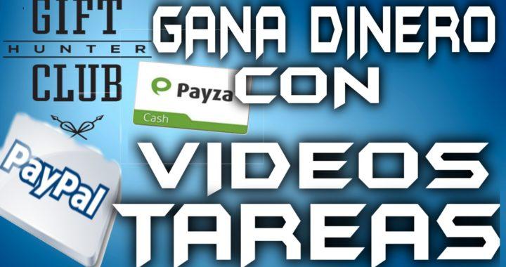 Dinero por ver Vídeos,Hacer Tareas,Registrarse,Contestar Encuestas Remuneradas Paypal| Tengo Dinero