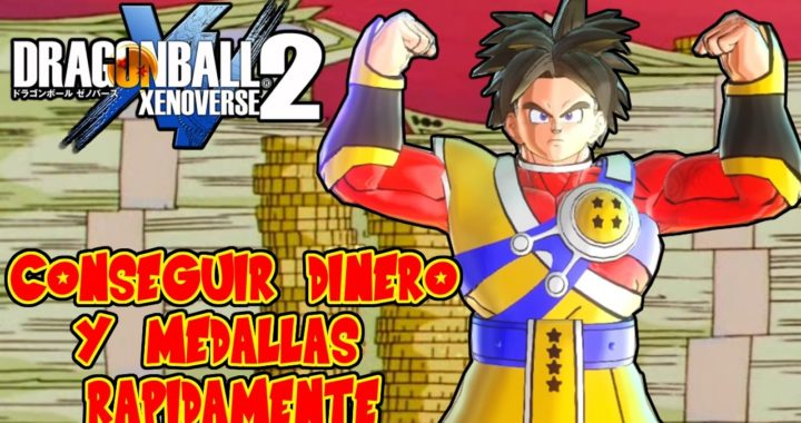 DRAGON BALL XENOVERSE 2 : CONSEGUIR DINERO Y MEDALLAS MUY RAPIDAMENTE ! MISION EXPERTA 17 FACIL